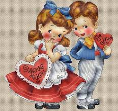 French Cross Stitch Charts Instant Download Les Petites Croix De Lucie Be Mine Pdf