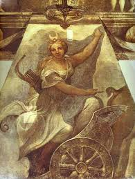 diana artist correggio completion date style high renaissance genre mythological painting technique fresco gallery san paolo parma italy