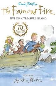 five on a trere island quentin blake cover