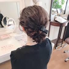Moriyama Mamiさんのヘアスタイル セミロングのお客様下目にア