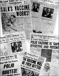 the last word on nothing polio and a father s certainty a couple of weeks ago i was researching the history of polio vaccination and i stumbled across a photo that stopped me cold there was jonas salk