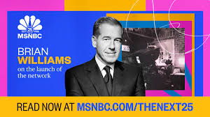 We did not find results for: Msnbc On Twitter To Mark Msnbc S 25th Anniversary Msnbcdaily Will Feature 25 Days Of Forward Looking Essays On Important Issues From Msnbc Anchors Hosts And Correspondents Brian Williams Discusses The Launch Of The