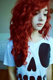 Long Bright Red Hair Tumblr