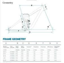 Mtb Geometry Chart Frame Geometry Part 2 Trail Handling Singletracks
