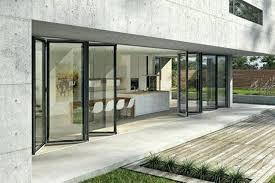 aluminium bifold glass doors sl 82 in surrey hampshire berkshire folding glass door frameless glass folding