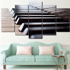 artistic wood pieces design. 5 Pieces Minimalist Piano Canvas Art - Artistic Pod Review Wood Design