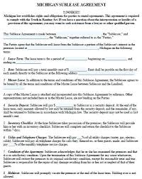 Lease Agreement Template Free Printable Rental Templates Simple ...