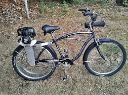 picture of honda motorized bicycle
