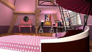 Ladybug Bedroom Artstation Miraculous Ladybug Marinettes Room James Owen