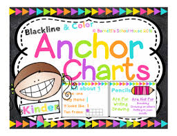Kinder Anchor Charts Kinder Anchor Charts