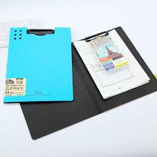 clipboard office paper holder clip. High Quality PP Exam Paper Promotional Material Business Document File Folder Clipboard Office Stationery Holder Clip P