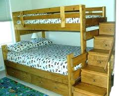 bunk bed plans with stairs twin over full bunk bed plans over full bunk bed plans
