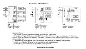 universal lighting technologies Ge Hid Ballast Wiring Diagram 4 Bulb Ballast Wiring Diagram