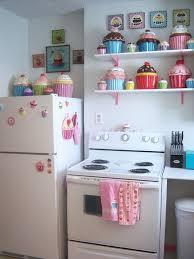 Cupcake Kitchen Accessories Decor Inspiration Nice Cupcake Kitchen Curtains 32 Cupcake Kitchen Decor Accessories