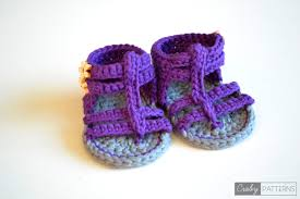 Free Crochet Patterns For Baby Sandals Custom Decorating