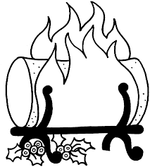 logging coloring pages best photos of fire log coloring page fire logs coloring yule log