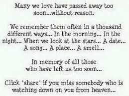 Uplifting Quotes About Death Of A Loved One. QuotesGram via Relatably.com