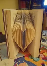 folded page book art tutorial finally i feel bad knowing i m gonna do this to a book