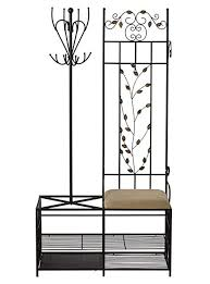 Hall Tree Coat Rack Storage Bench Inspiration Amazon Entryway Hall Tree Coat Rack Storage Bench And Umbrella