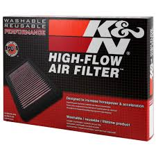 K&N 33-2387 Tacoma Air Filter Replacement 2.7L Toyota 2005-2018