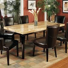 modern travertine dining room tables
