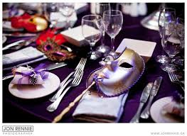 Table Decorations For Masquerade Ball setting mask at every seat wnapkin for table decor in our colors 11