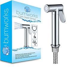Bumworks Cloth Diaper Toilet Sprayer Kit - Brass ... - Amazon.com