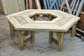 tree seats garden furniture. hexagonal table 8 arbour seat tree seats garden furniture i