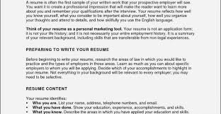 Beginner Resume Amazing R Sum Profile Creation Jonahfeingold