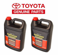 2-Gallons Genuine Antifreeze Coolant (Red color) Long Life Fits ...