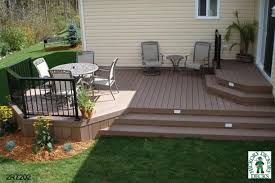 Backyard Deck Designs Plans Interesting Decorating