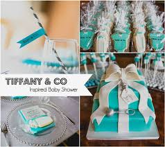 TIFFANY U0026 CO Baby Shower Party Ideas  Photo 2 Of 11  Catch My PartyTiffany And Co Themed Baby Shower