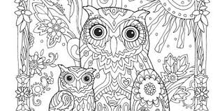 Small Picture Printable 30 Adult Coloring Pages Owl 9154 Adult Colouring Pages