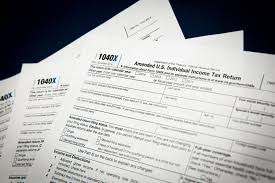 Irs Schedule Refund Chart 2015 How To File An Amended Tax Return