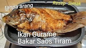 Namun apabila anda menginginkan ikan yang tuang sedikit air, lalu tambahkan kecap manis, saus tiram, lada bubuk dan garam. Resep Ikan Gurame Panggang Saus Tiram Spesial Iniresep Cute766