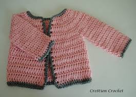 Crochet Baby Sweater Pattern Impressive Abigail Baby Girl Cardigan Cre48tion Crochet
