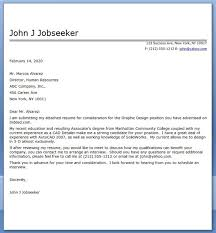Graphic Design Cover Letter Sample Pdf Creative Resume Design