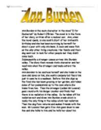 ann burden is the main character in the novel z for zechariah by  page 1 zoom in