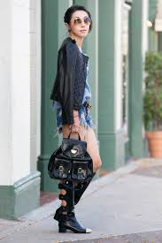 french chanel black strappy leather buckle cut out tall boots chanel cutout boots