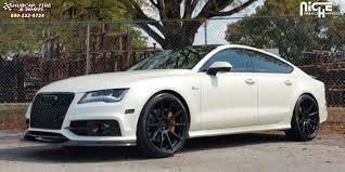 audi a7 blacked out. audi a7 niche essen m147 21x105 matte black wheels and rims blacked out