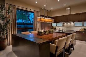 Inspiration For A Contemporary Ceramic Floor Eat In Kitchen Remodel In  Phoenix With Flat  Home Design Ideas