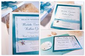free beach wedding invitations templates ideas