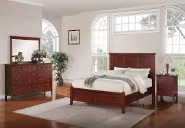 Mahogany Bedroom Suite Forest Lake 5 Piece King Bedroom Set Mahogany Leons