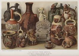 Old Pottery From America Look And Learn History Picture Library