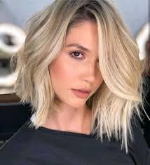 احدث قصات الشعر المتوسط احلي تسريحات شعر متوسط ازاي