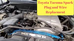 1995-2004 Toyota Tacoma Spark Plug and Wire Replacement (P0304 ...