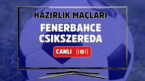 Canlı maç izle Fenerbahçe Csikszereda Fenerbahçe Youtube kanalı Hazırlık  Maçları şifresiz ve canlı izle - Tv100 Spor