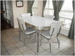 Round Formica Table Kitchen Vintage Chrome Formica Kitchen Table Kitchen Chairs