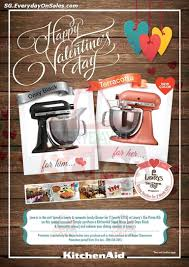Kitchen Appliances Singapore Mayer Kitchenaid Valentines Day Promotion
