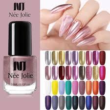Super Sale #6e4b - <b>NEE JOLIE 3.5ml Matting</b> Nail Polish Glimmer ...